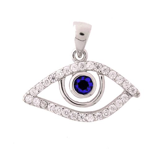 Sterling silver charm 925 cz plata jasmine pendants aloadofball Image collections